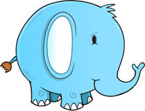 Cute Elephant Vector Stock Photography