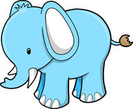 Cute Elephant Vector Illustration Royalty Free Stock Photos