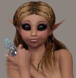 A cute elf Stock Photo