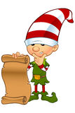 Cute Elf Character Royalty Free Stock Photo