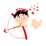 Cute eros cartoon Royalty Free Stock Photo