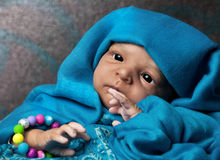 Cute Ethnic Baby Royalty Free Stock Photo