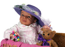 Cute Ethnic Baby Stock Photography