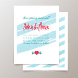Cute ethnic cards and invitations Royalty Free Stock Photo
