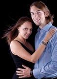 Cute european couple Royalty Free Stock Image