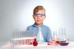 Cute experimentalist Royalty Free Stock Images