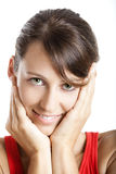 Cute face Royalty Free Stock Images