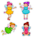 Cute fairies Stock Image