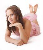 Cute fairy. Stock Photos