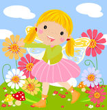 Cute fairy Stock Photography