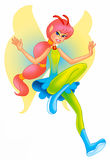 Cute fairy Royalty Free Stock Image