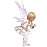 Cute fairy Stock Photo