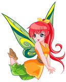Cute Fairy Stock Photo