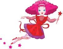 Cute Fairy cartoon  Royalty Free Stock Images