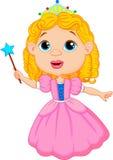 Cute fairy cartoon Stock Images