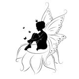 Cute Fairy. Royalty Free Stock Image