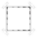 Fancy page border Royalty Free Stock Photos