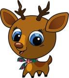 Cute fashion deer  illustration Royalty Free Stock Photos