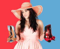Cute fashion girl Royalty Free Stock Images