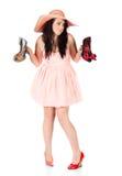 Cute fashion girl Stock Photo