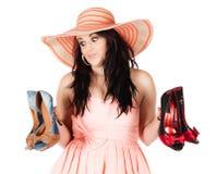 Cute fashion girl Stock Photos