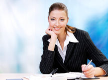 Cute female leadership Royalty Free Stock Image