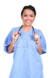 Cute Female Nurse, Doctor, Medical Worker royalty free stock photo