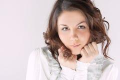 Cute female portrait Stock Image