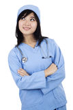 Cute female surgeon Royalty Free Stock Photo