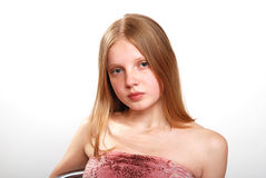 Cute female teenager Royalty Free Stock Photography