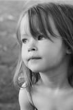 Cute female toddler Royalty Free Stock Image