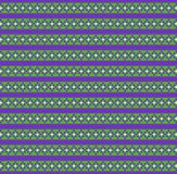 Cute festive green and violet seamless background  with rhombus. And stripes print. Vector illustration, template, pattern for design Stock Photo