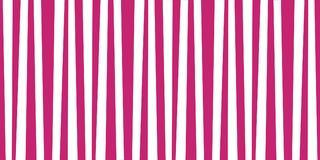 Cute festive pattern background with pink and white vertical str. Ipes. Vintage retro stripes design. Creative vertical banner. Vector illustration for design Royalty Free Stock Image