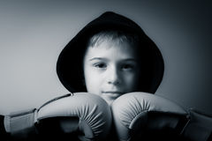 Cute fighter royalty free stock images