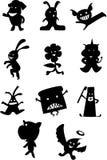 Cute Figures. Illustrations vector cartoon of Cute Figures vector illustration