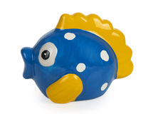 Cute fish bank Stock Photo