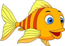 Cute fish cartoon. Illustration of cute fish cartoon Stock Image