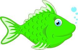 Cute fish cartoon. Illustration of Cute fish cartoon Royalty Free Stock Photos