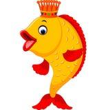 Cute fish cartoon. Illustration of Cute fish cartoon Stock Photography