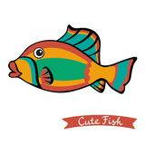 Cute fish Royalty Free Stock Photo