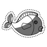 Cute fish isolated icon. Illustration design Stock Photography
