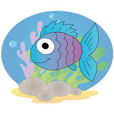 Cute fish Royalty Free Stock Image
