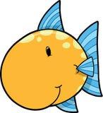 Cute Fish Vector Illustration Stock Photos