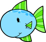 Cute Fish Vector Illustration Stock Images