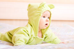 Cute five month baby Stock Photo