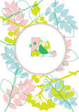 Cute floral background Royalty Free Stock Photos