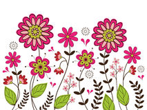 Cute floral background Royalty Free Stock Photography