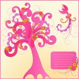 Cute floral design elements. Stock Photography