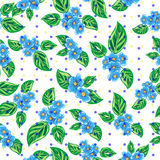 Cute floral pattern Stock Photos