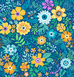 Cute Floral pattern. Stock Image